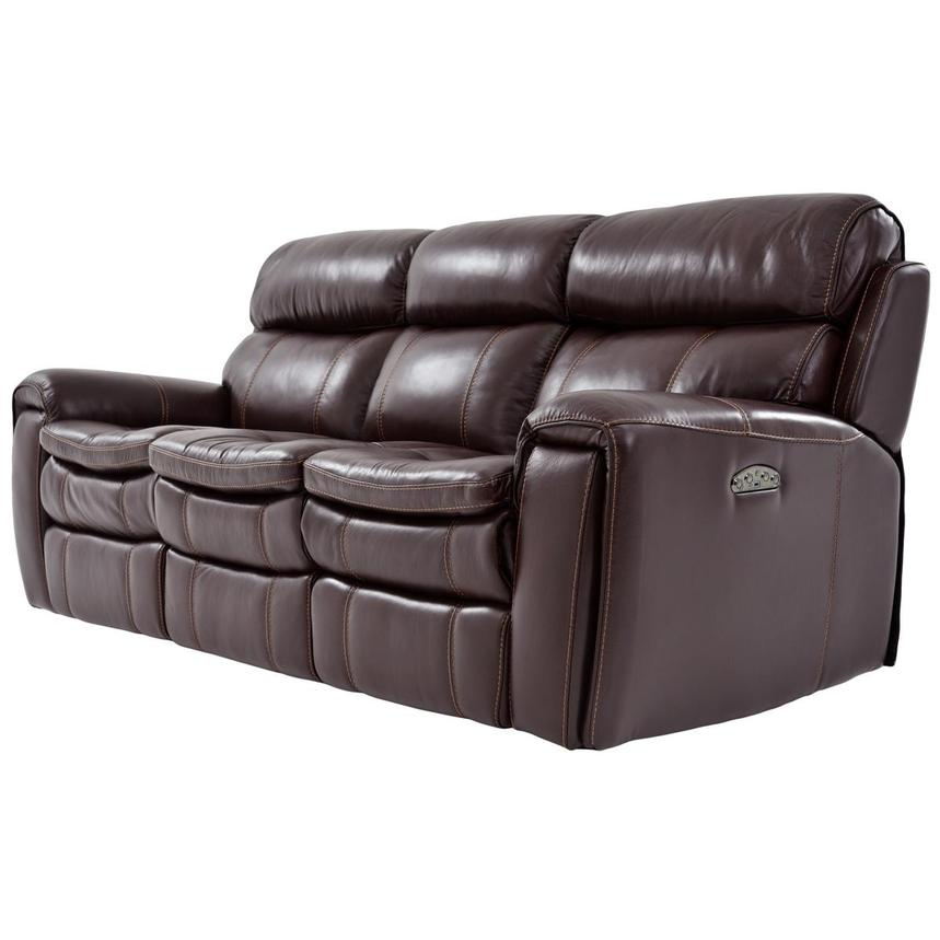 Napa Power Motion Leather Sofa  alternate image, 2 of 7 images.