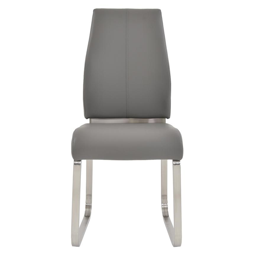 Karlo Gray Side Chair  main image, 1 of 7 images.