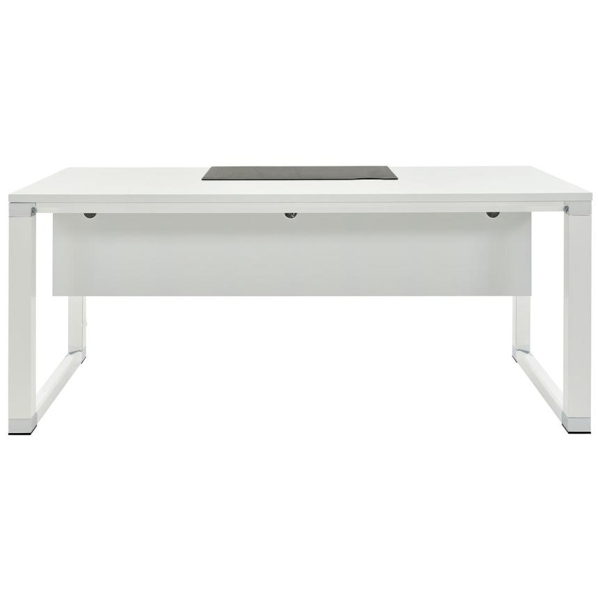Ren Executive Desk W/Universal Outlets
