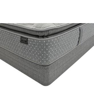 Genoa King Mattress w/Low Foundation by Carlo Perazzi
