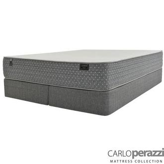 Merano HB King Mattress w/Regular Foundation by Carlo Perazzi