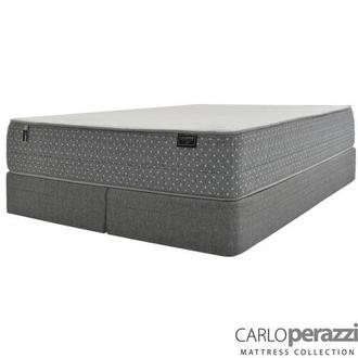 ST. Moritz HB King Mattress w/Low Foundation by Carlo Perazzi