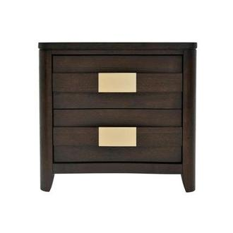 Contour Brown Nightstand