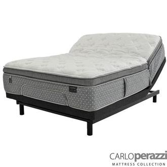 Karina iFlex King Mattress w/Essentials III Powered Base by Serta