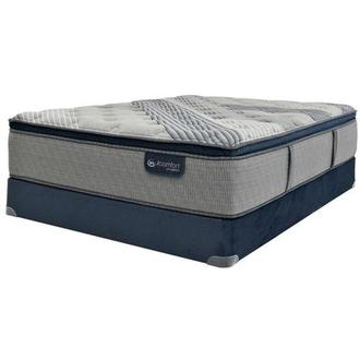 Fusion 1000 PT Twin XL Mattress w/Low Foundation by Serta