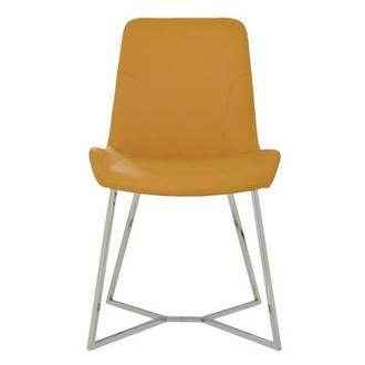 Brianna Yellow Side Chair