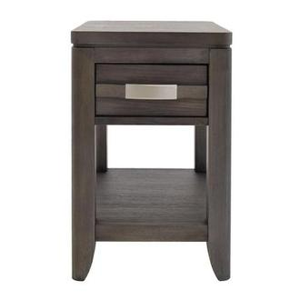 Contour Gray Side Table