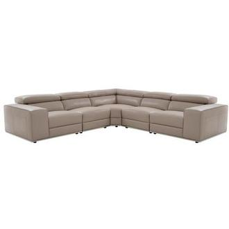 Melony Leather Sofa