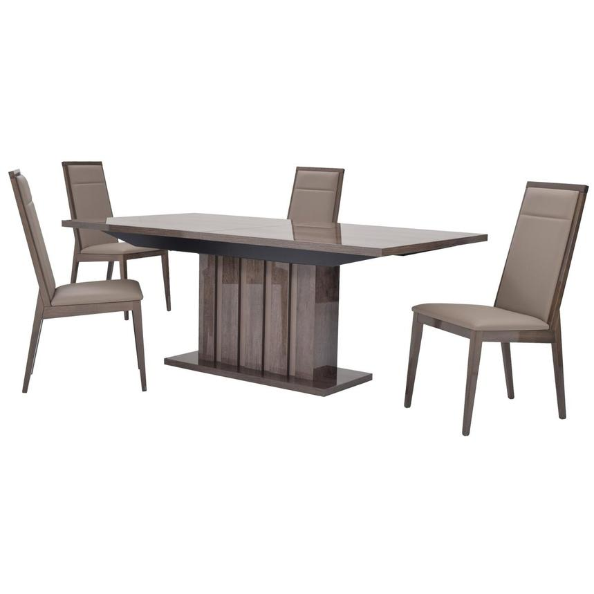 Matera 5 Piece Formal Dining Set Made In Italy Main Image 1 Of 18
