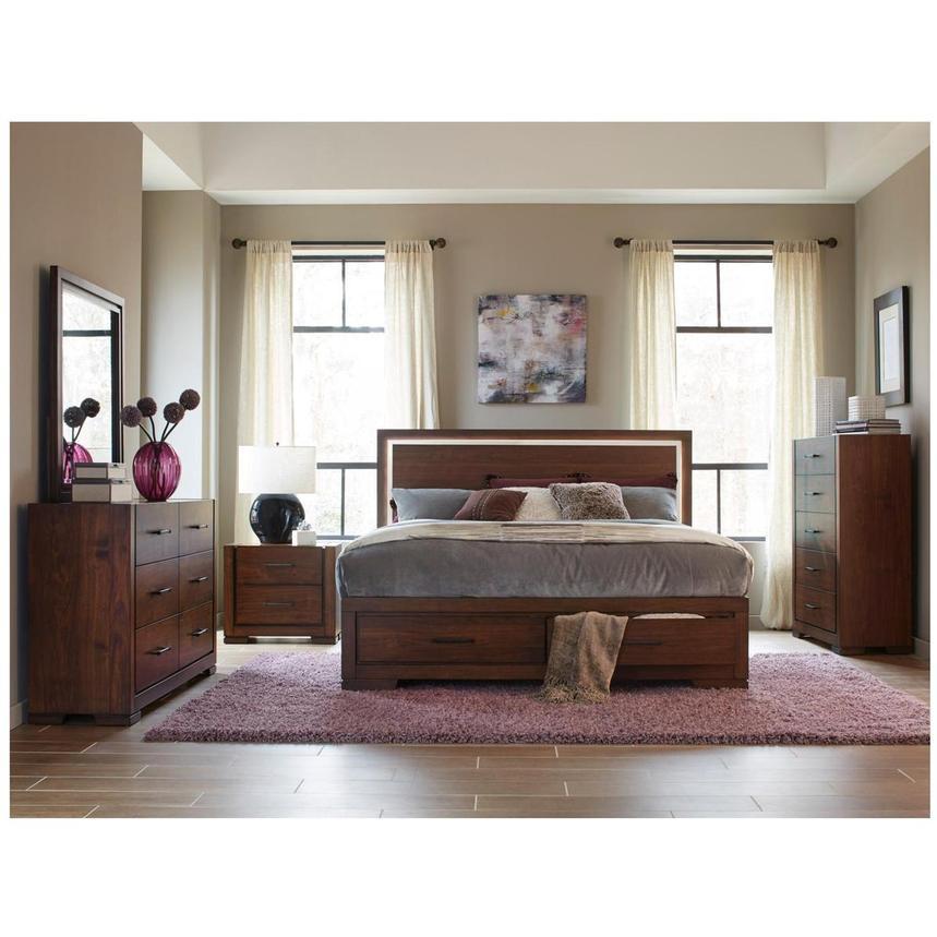 Brown Ball Base Bedroom Table Lamp