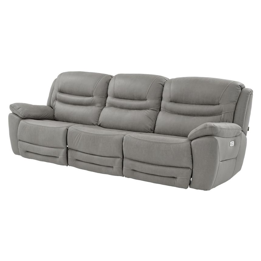 Dan Gray Oversized Sofa El Dorado Furniture