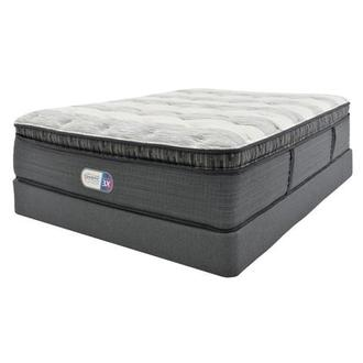 Clover Spring PT Full Mattress w/Low Foundation by Simmons Beautyrest Platinum