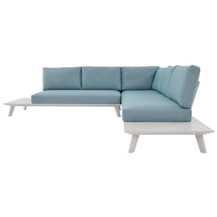 Esmeralda Blue Sofa  alternate image, 2 of 5 images.