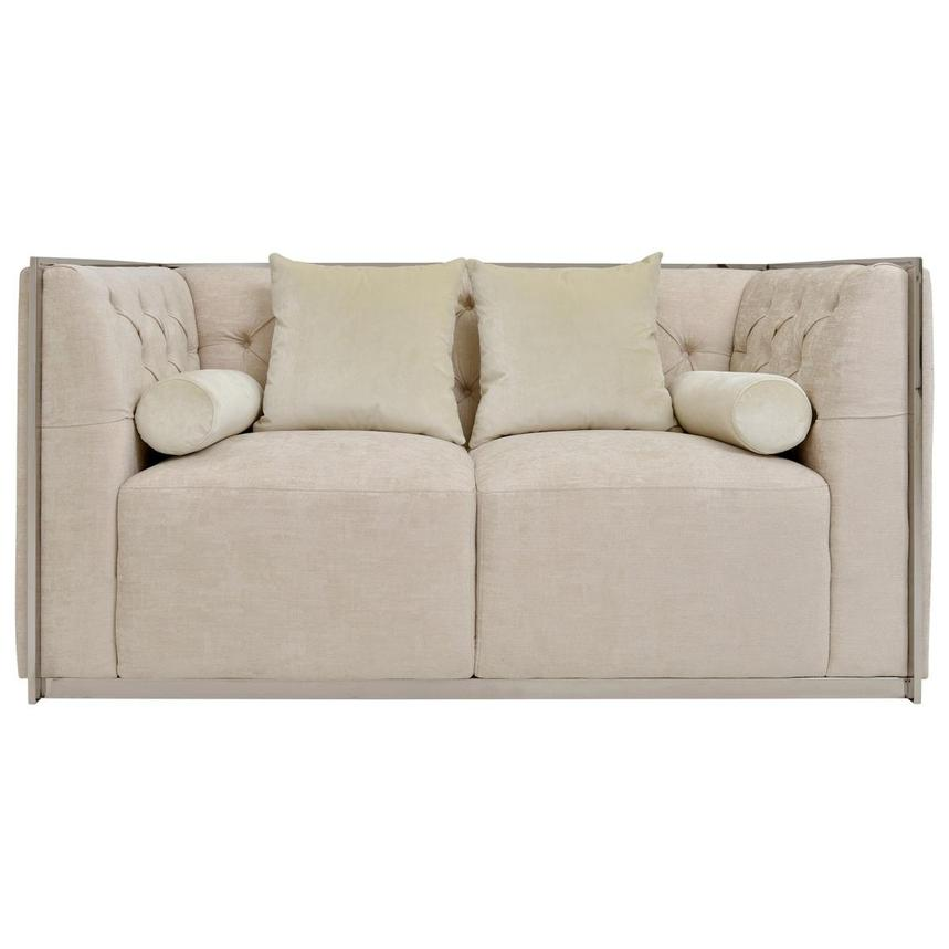 Emma Cream Loveseat  main image, 1 of 6 images.