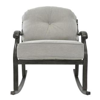 Castle Rock Gray Rocking Chair