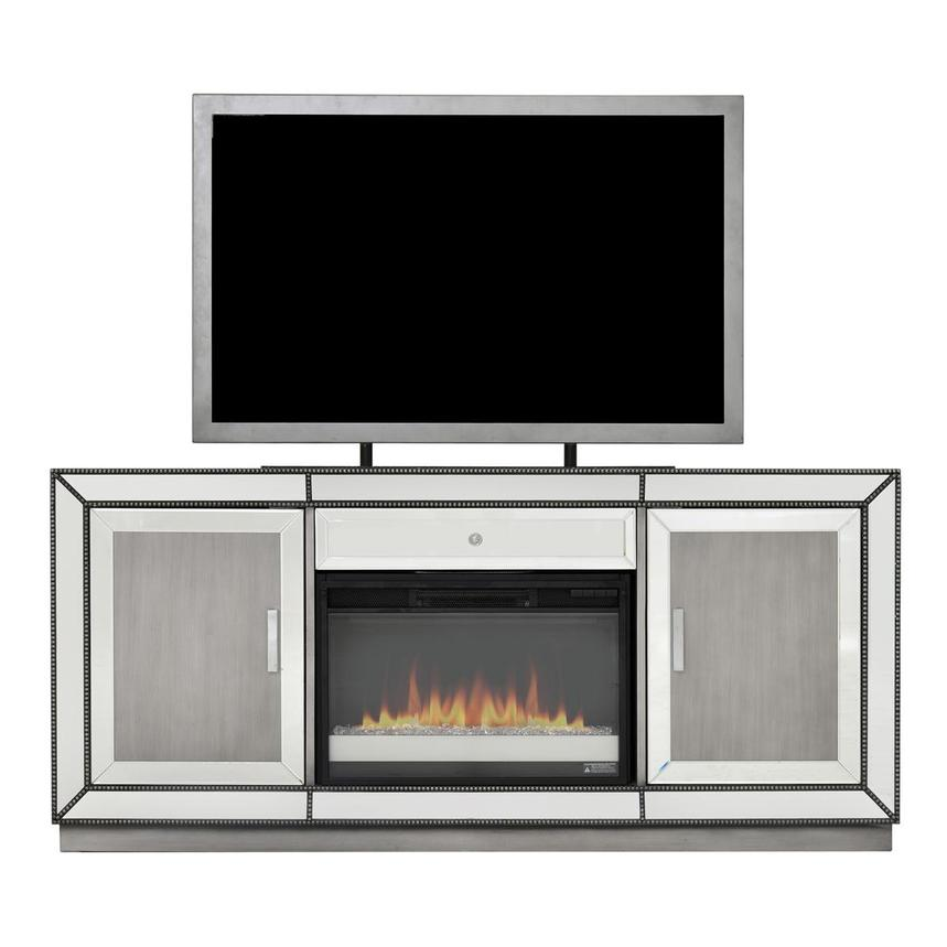 Galena Faux Fireplace w/Remote Control  main image, 1 of 5 images.