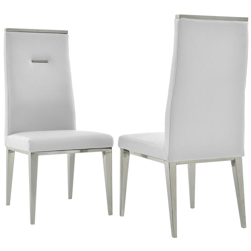 Suri/Hyde White 5-Piece Formal Dining Set  alternate image, 12 of 14 images.