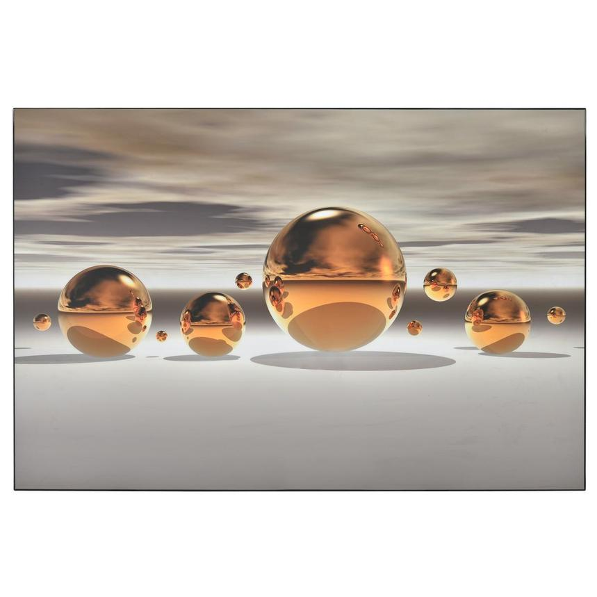 Golden Bowl Acrylic Wall Art  main image, 1 of 3 images.