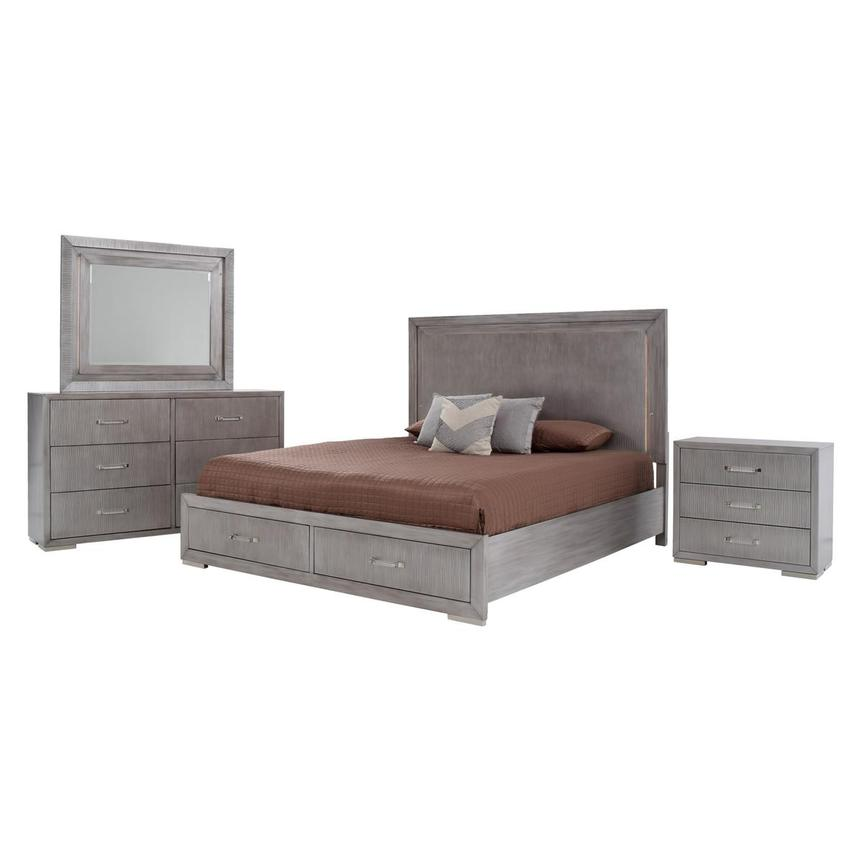 Parker 4-Piece Queen Bedroom Set  main image, 1 of 6 images.