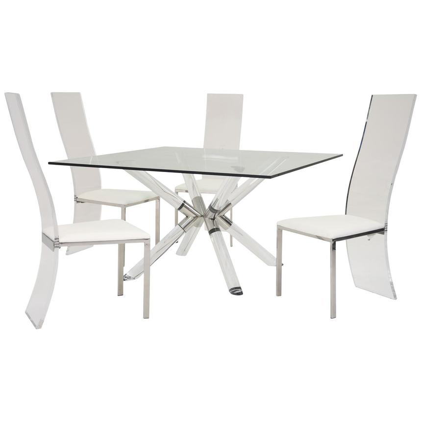 Ace/Layra 5-Piece Formal Dining Set  main image, 1 of 10 images.