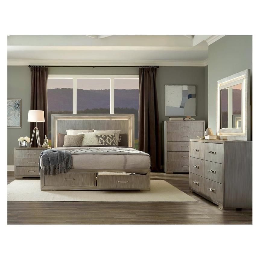 Tempur Memory Foam Mattress >> Parker 4-Piece Queen Bedroom Set   El Dorado Furniture