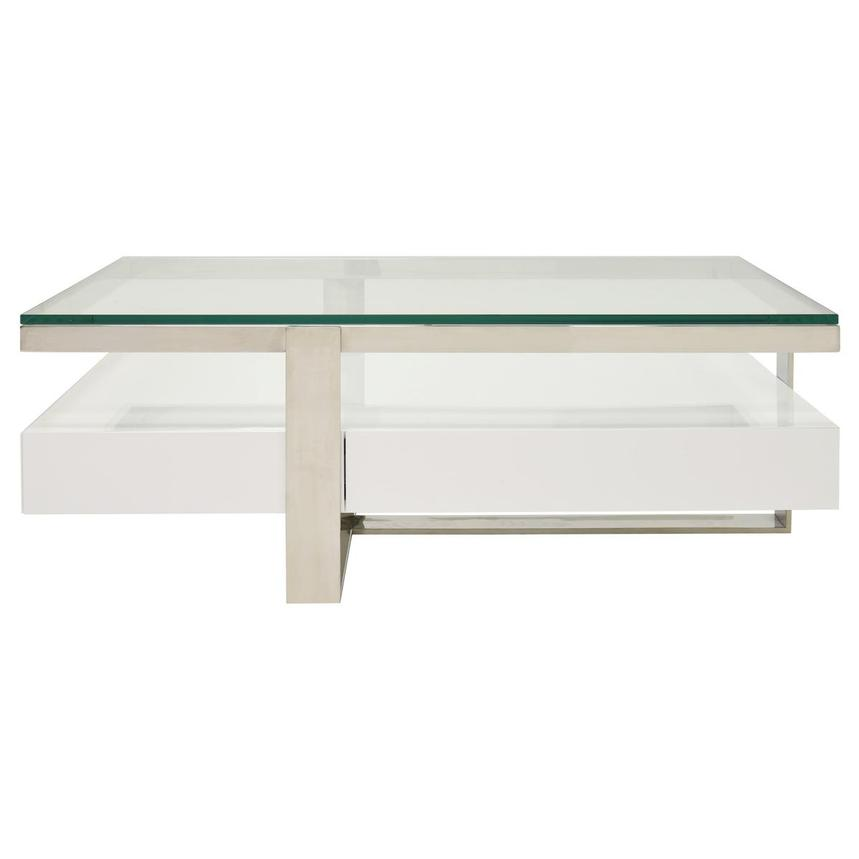 Calypso White Coffee Table  main image, 1 of 6 images.