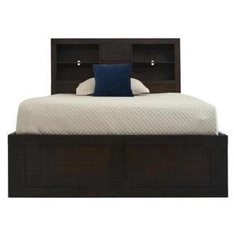 Brown Ridge Full Bookcase Bed