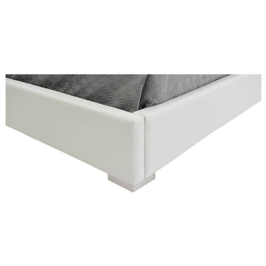 Livia White King Platform Bed  alternate image, 7 of 7 images.