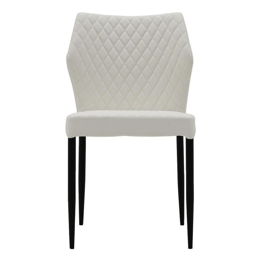 Zari White Side Chair  main image, 1 of 6 images.