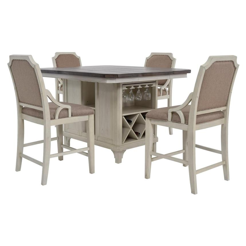 Beau Sammie 5 Piece High Dining Set