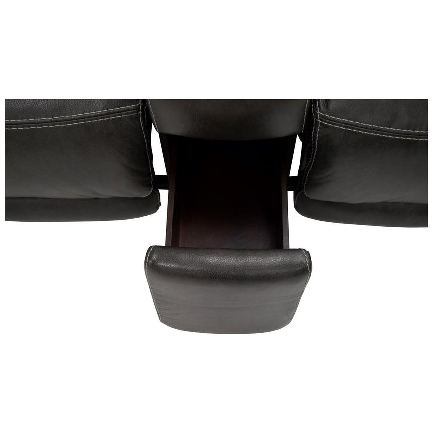 Cody Gray Power Motion Leather Loveseat w/Console  alternate image, 11 of 11 images.