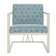 Fairmont Blue Accent Chair  main image, 1 of 5 images.
