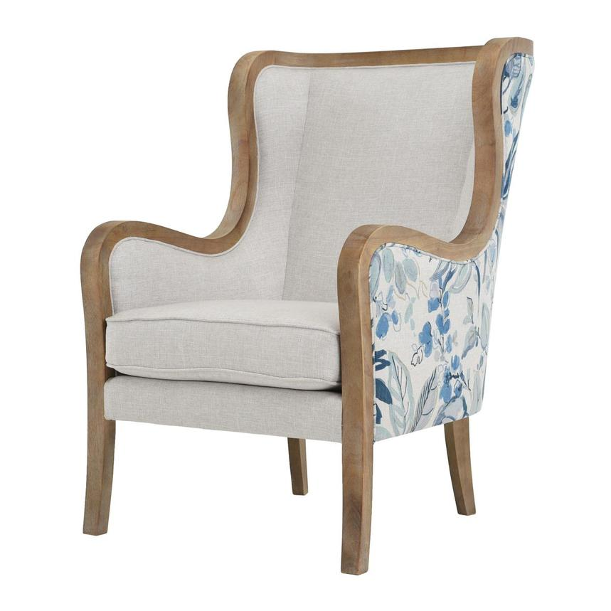 Scarlett Blue Accent Chair  alternate image, 2 of 6 images.