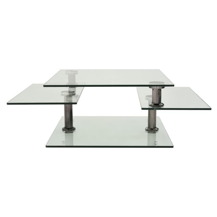Square Black Motion Coffee Table