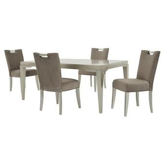 Edge 5-Piece Formal Dining Set