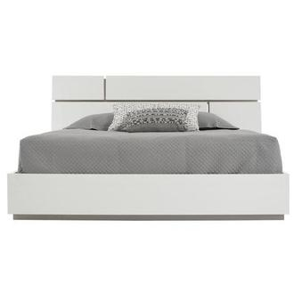 Siena Queen Platform Bed Made in Italy