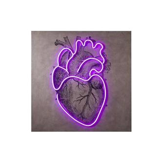 Lighthearted Wall Decor w/Neon LED Light
