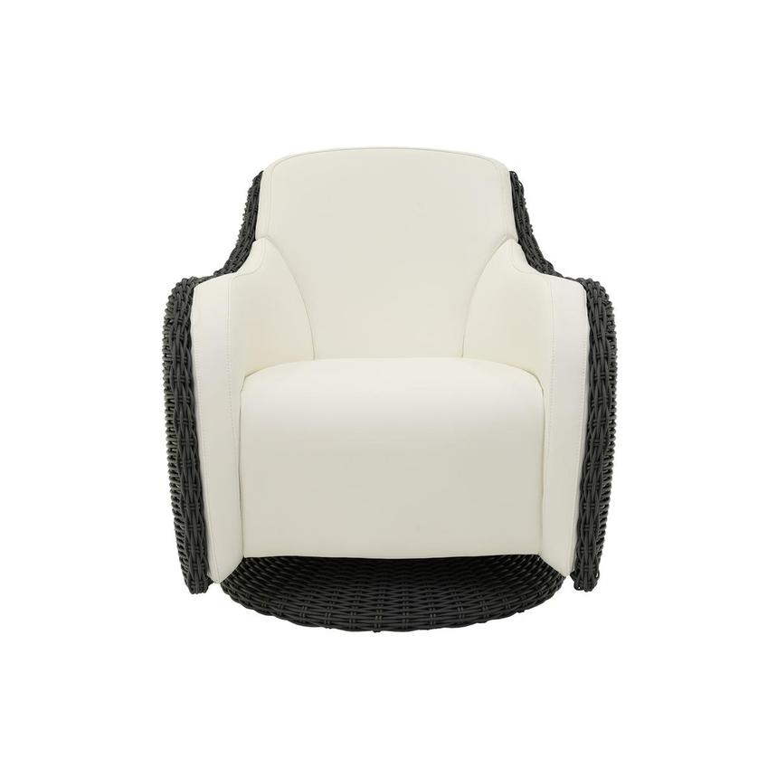 Luxor Gray Swivel Chair