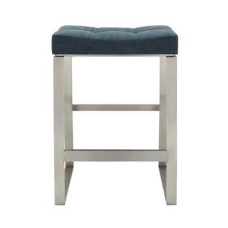 Sabriel Blue Counter Stool