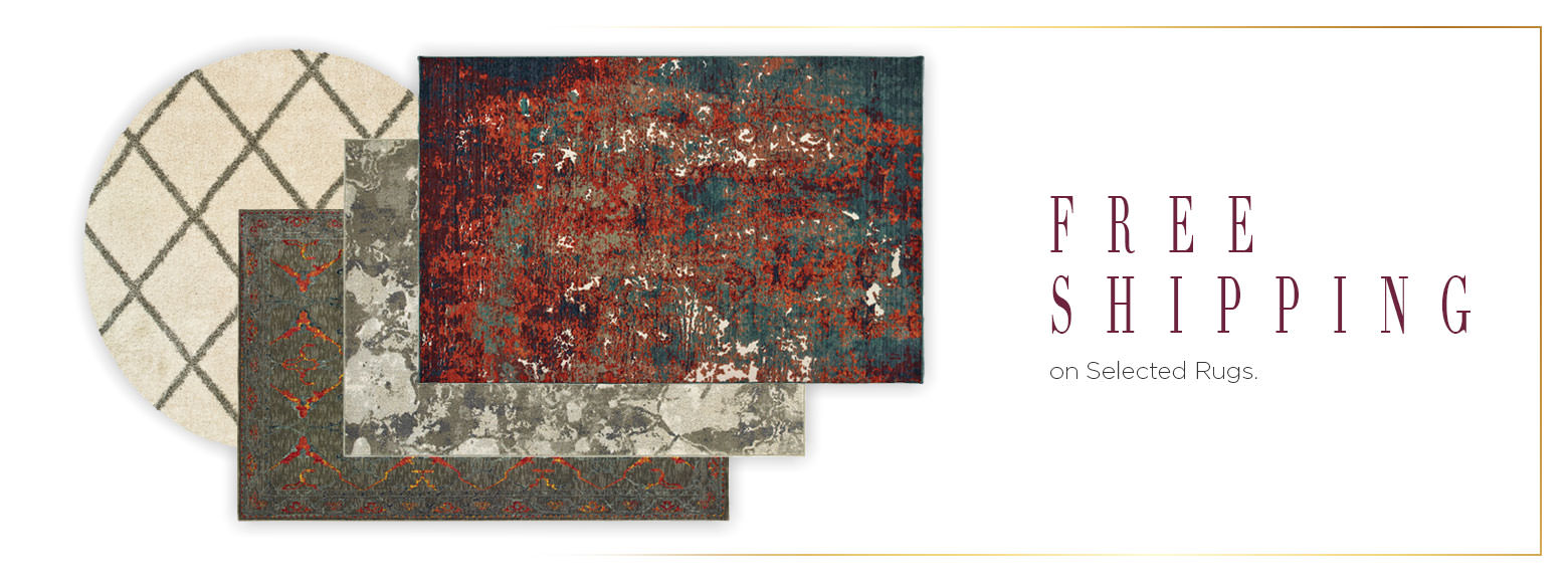 Free Shipping on selected rugs.