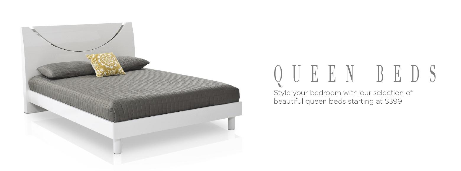 Beds & Bedrooms - Queen Beds