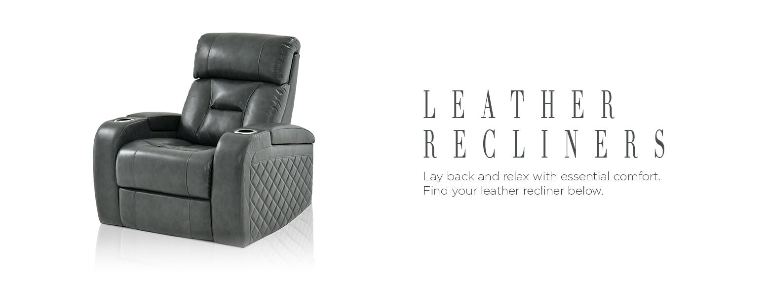 Leather Furniture Leather Recliners El Dorado Furniture ~ Leather Sofa And Recliners