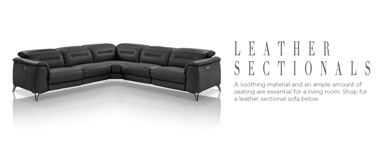 Leather Furniture Leather Sectional Sofas El Dorado Furniture ~ Furniture Sectionals Sofa