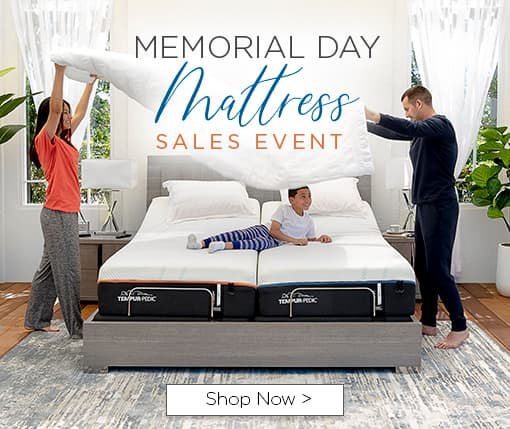 Memorial Day mattress sales event. Shop now.