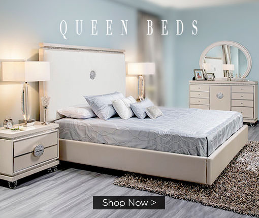 Queen Beds. Shop Now.