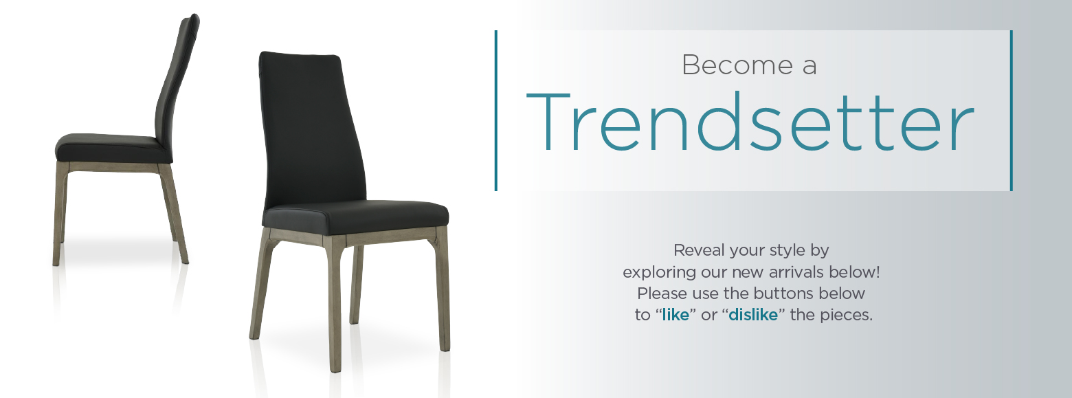 Help Create The Latest Trends. Get A First Look At Our Newest And Trendiest  Furniture