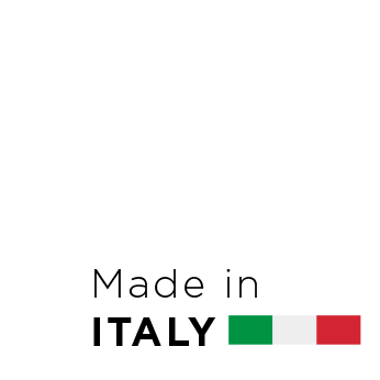 This product is manufactured in Italy.