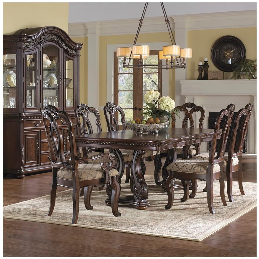 San Marino 5-Piece Formal Dining Set  alternate image, 2 of 10 images.