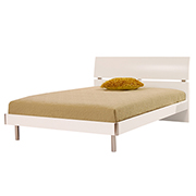 Bellmar White Twin Platform Bed  main image, 1 of 6 images.