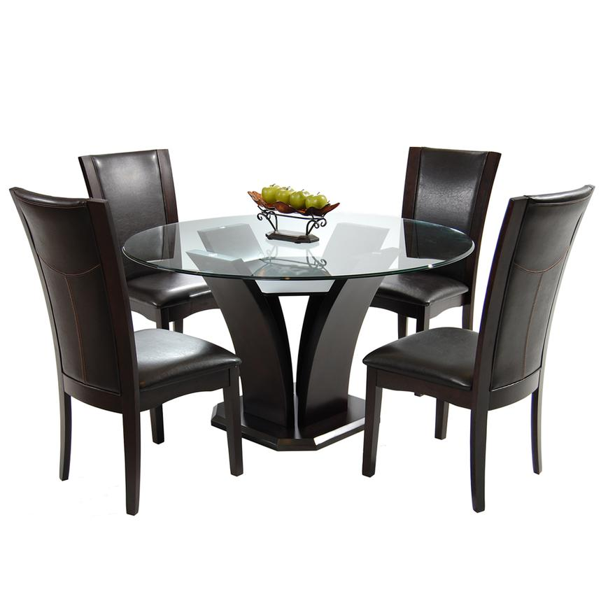 Daisy Brown 5-Piece Casual Dining Set  main image, 1 of 8 images.
